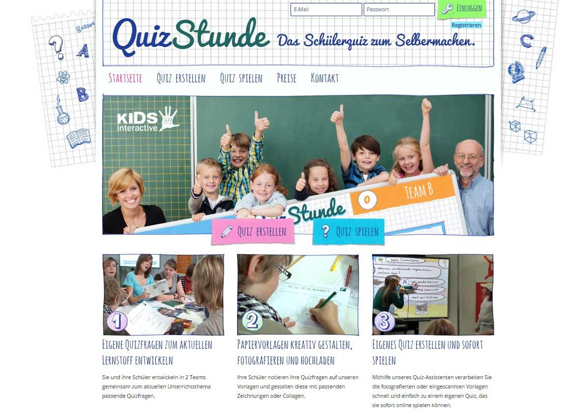 Quizstunde_Startseite